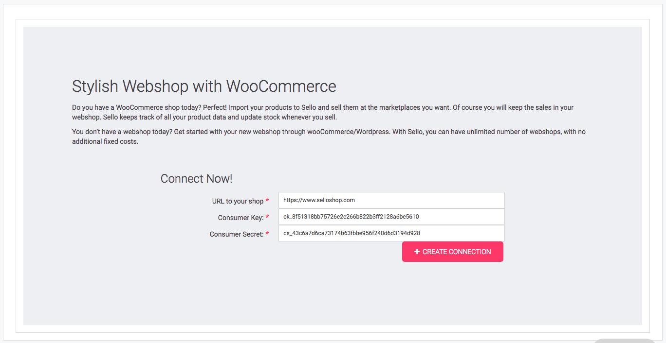 how to create consumer key and consumer secret api woocommerce